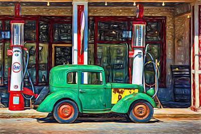 1940 Bantam Coupe 2 - Paint Print by Steve Harrington