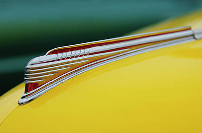 1941 Chevrolet Sedan Hood Ornament Print by Jill Reger