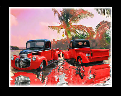 1946 Chevy Pick Up Original by John Breen