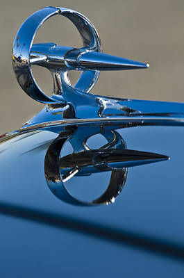 1947 Buick Roadmaster Hood Ornament Print by Jill Reger