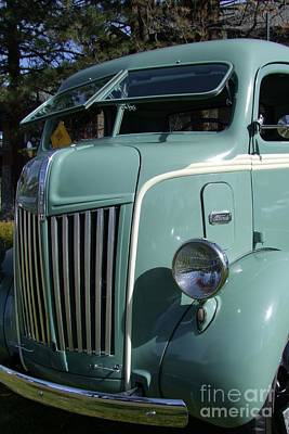 1947 Ford Cab Over Truck Print by Mary Deal