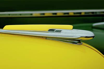 Hoodies Photograph - 1948 Chevrolet Fleetmaster Hood Ornamnet by Jill Reger