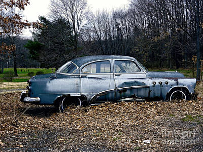 Detroit Legends Digital Art - 1949 Buick Roadmaster by Gena Weiser