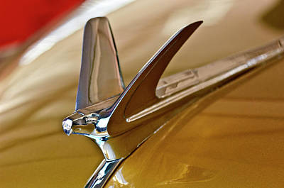 Hoodie Photograph - 1949 Chevrolet Fleetline Hood Ornament by Jill Reger