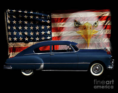 1949 Pontiac Tribute Print by Peter Piatt