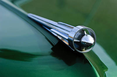 1949 Studebaker Champion Hood Ornament 2 Print by Jill Reger