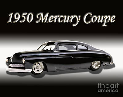 Abstract Photograph - 1950 Mercury Coupe by Peter Piatt