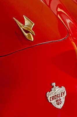 1951 Crosley Hot Shot Hood Ornament Print by Jill Reger