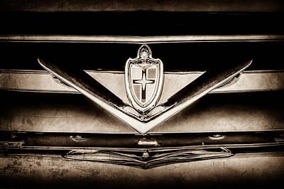 Lincoln Photograph - 1952 Lincoln Derham Town Car Grille Emblem, 1952 Lincoln Emblem, 1952 Lincoln Grille Emblem, 1952 Li by Jill Reger