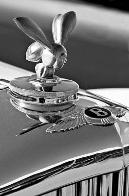 Hoodie Photograph - 1954 Bentley One Of A Kind Hood Ornament 2 by Jill Reger