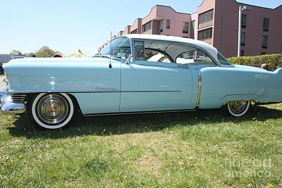 Photograph - 1954 Cadillac Coupe Deville by John Telfer