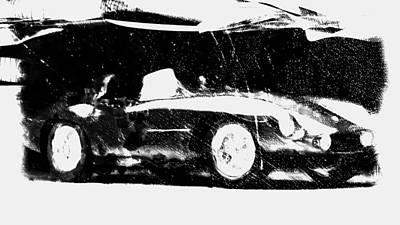 Australian Open Mixed Media - 1954 Ferrari 750 Monza by Brian Reaves