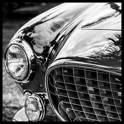 Photograph - 1954 Ferrari Europa 250 Gt Grille -1336bw12 by Jill Reger