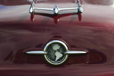 1955 Oldsmobile Holiday 88 Hood Ornament Print by Jill Reger