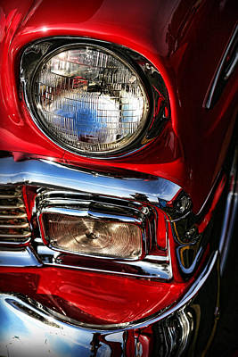 1956 Chevrolet Bel Air Print by Gordon Dean II