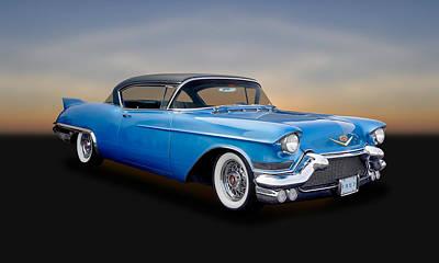 1957 Cadillac Eldorado Coupe  -  57cadeld570 Print by Frank J Benz