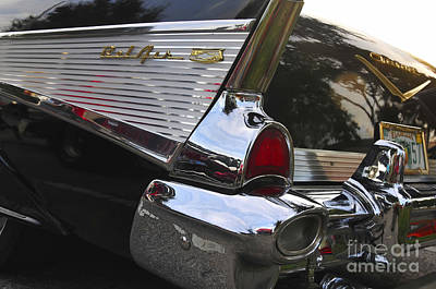 Antic Car Photograph - 1957 Chevy Bel-air by David Lee Thompson