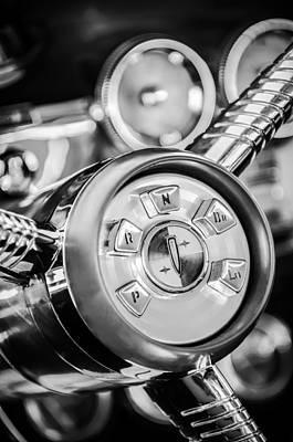 1958 Photograph - 1958 Edsel Ranger Push Button Transmission 2 by Jill Reger