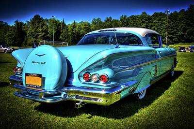 Automobile Photograph - 1958 Impala by David Patterson