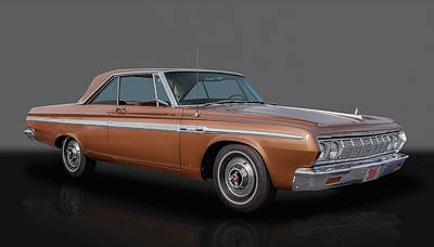 Fury Photograph - 1964 Plymouth Sport Fury - 383 4-speed by Frank J Benz