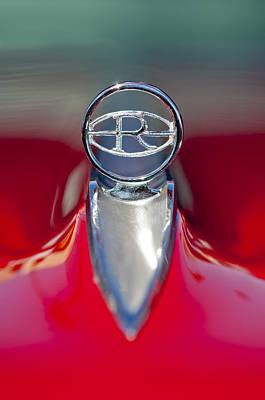 1965 Buick Riviera Hood Ornament Print by Jill Reger