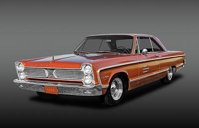 Fury Photograph - 1966 Plymouth Sport Fury -  66sptfuyfa1195 by Frank J Benz