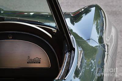 Green 1967 Corvette Print by Dennis Hedberg