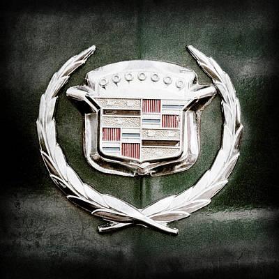 Photograph - 1969 Cadillac Eldorado Emblem -0306ac by Jill Reger