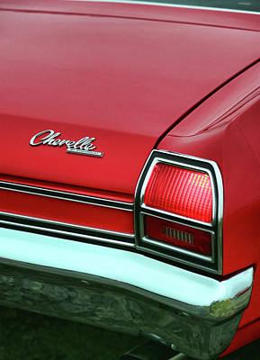 1969 Chevy Chevelle Ss 396 Original by Gordon Dean II