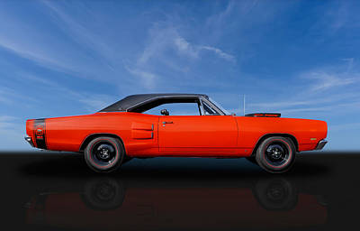 Super Bee Photograph - 1969 Dodge Super Bee 440 Six Pack by Frank J Benz