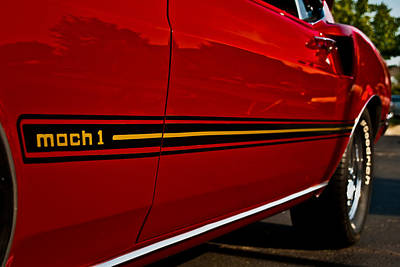Mach I Photograph - 1969 Mustang Mach I by  Onyonet  Photo Studios