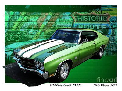 1970 Chevy Chevelle Original by Kelly Morgan
