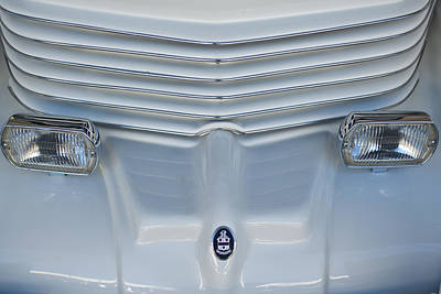 1970 Cord Royale Grille Hood Ornament Print by Jill Reger