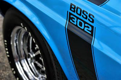 1970 Ford Mustang Boss 302 Original by Gordon Dean II