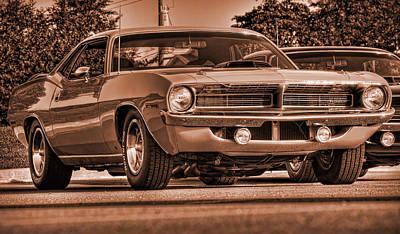 1970 Plymouth Hemi 'cuda Original by Gordon Dean II