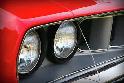 1971 Plymouth Barracuda Cuda Red  Original by Gordon Dean II