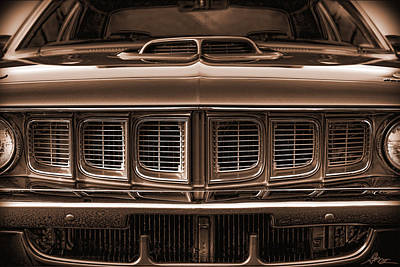Drag Digital Art - 1971 Plymouth 'cuda 440 by Gordon Dean II
