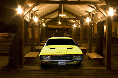 1972 Challenger Print by Michael Cleere