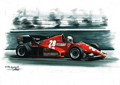 1983  Ferrari 126 C2b Original by Artem Oleynik