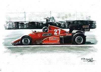 1983  Ferrari 126c3 Original by Artem Oleynik