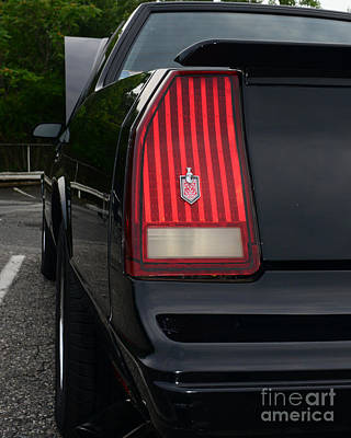 1988 Monte Carlo Ss Tail Light Print by Paul Ward