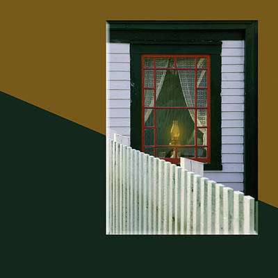 Light In The Window -2-15 Print by Manny Martins
