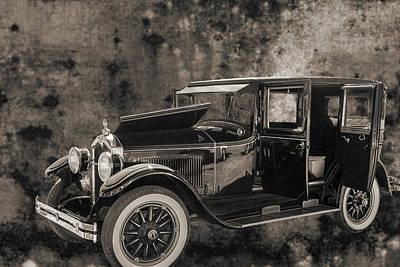 1924 Buick Duchess Antique Vintage Photograph Fine Art Prints 10 Print by M K  Miller