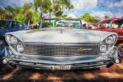 Restore Painting - 1959 Lincoln Continental Town Car Mk Iv Painted  by Rich Franco