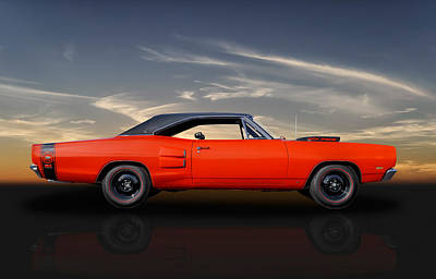 Super Bee Photograph - 1969 Dodge Super Bee - 440 Six Pack by Frank J Benz