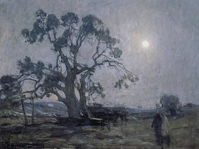 African American Artist Painting - Abraham's Oak by Henry Ossawa Tanner