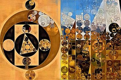 Feelings Digital Art - Abstract Painting - Calico by Vitaliy Gladkiy