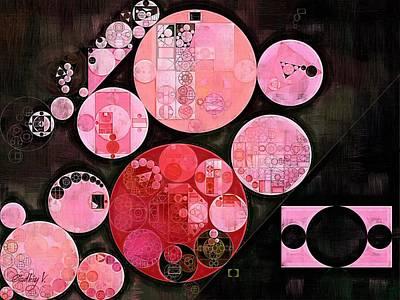 Feelings Digital Art - Abstract Painting - Mauvelous by Vitaliy Gladkiy