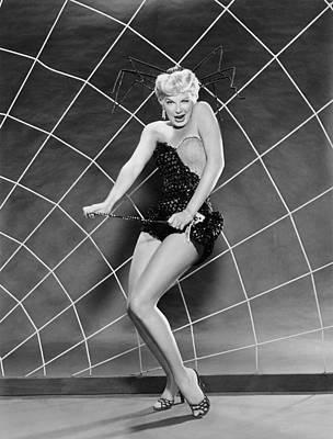 Actress Barbara Nichols Print by Underwood Archives