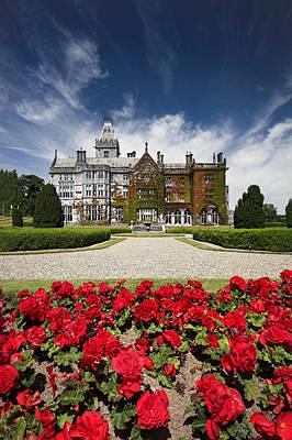 Adare Manor Gardens Ireland Print by Pierre Leclerc Photography